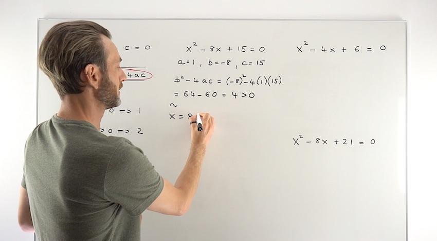 Quadratics Complex Roots