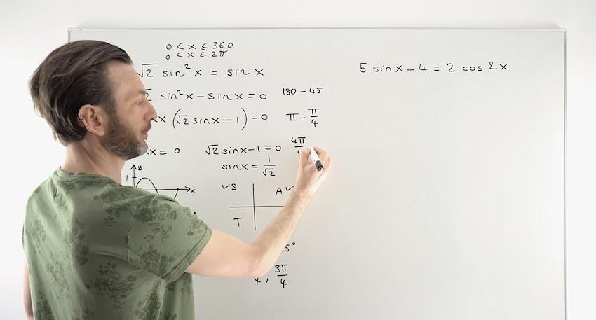 Trig Equations Examples